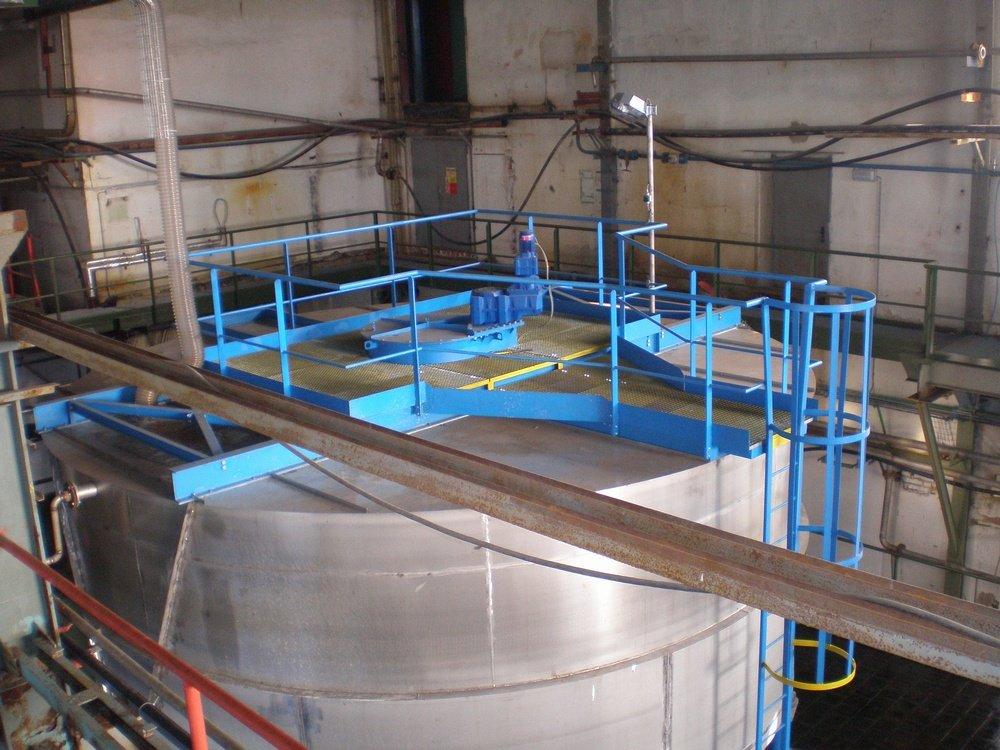 DIAMO reaction tank<br />